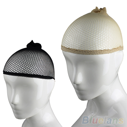 1 шт. унисекс чулок парик подкладка кепка поводка нейлон простирание сетки для волос сетчатая ткань черный обнажённый женщины мужчины 0KH5