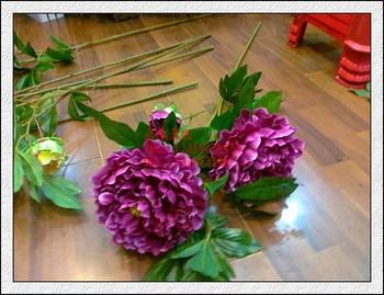 Guangzhou factory wholesale artificial silk peony flowers for guangzhou factory wholesale artificial silk peony flowers for decoration mightylinksfo