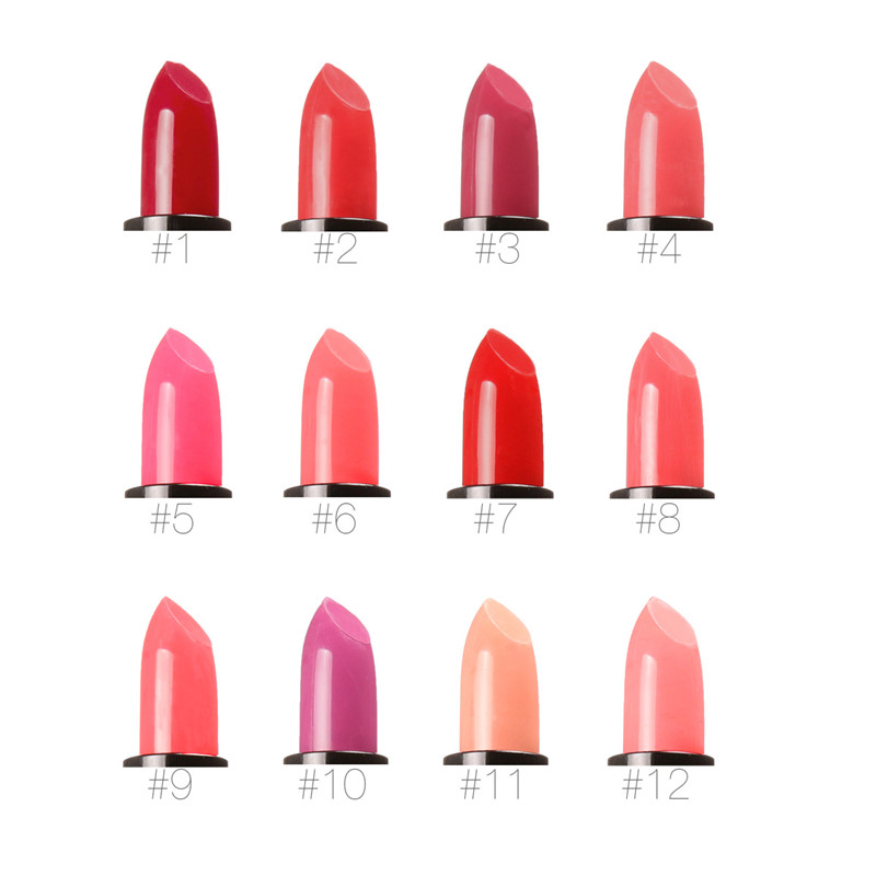 Wholesale Cosmetic Lipstick Manufacturers Waterproof Lipstick Private Label Multi-Colored Lipstick