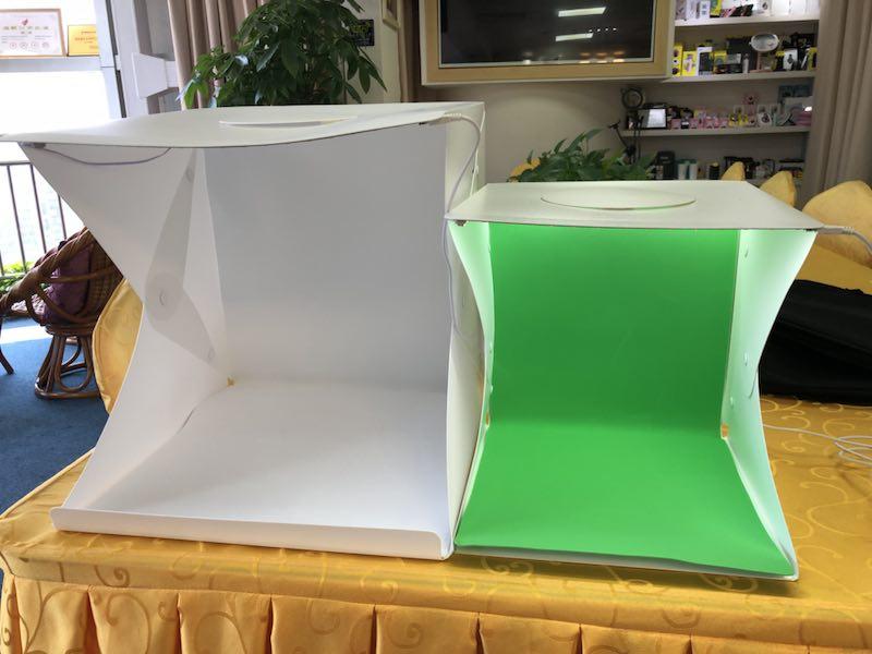 Folding usb support portable photo studio light box Photography Light Tent mini photo studio