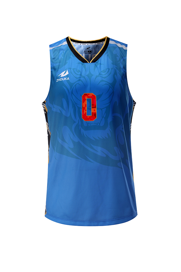 ecea325b94c China Custom New Design Basketball Jersey Sublimated Dri Fit International  Jersey Blue Basketball Uniform