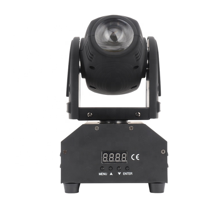 Alta Qualità Mini 10 W RGBW 4IN1 Fascio Moving Head Light DMX512 LED della Lavata di Show DJ Bar Pub Club