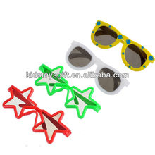 Hotest Sunshine Color Changing plastic Shades/Kids plastic glasses