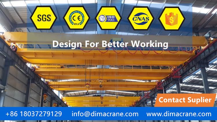 20 ton/10 ton Europe style double beam overhead cranes