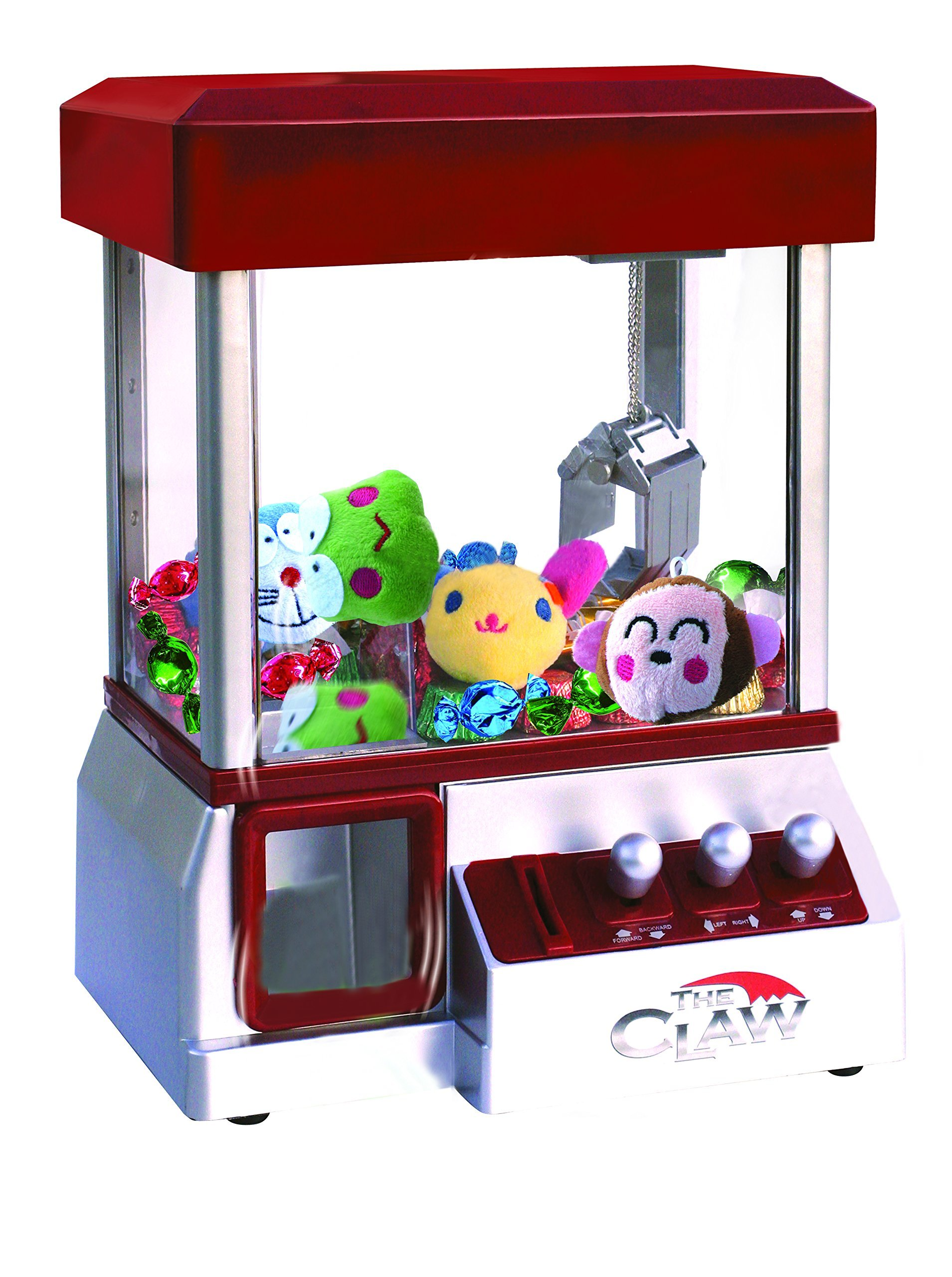 Get Quotations · Etna The Claw Toy Grabber Machine with Sounds and Animal  Plush - Features Electronic Claw Toy 45a1787b9d7f