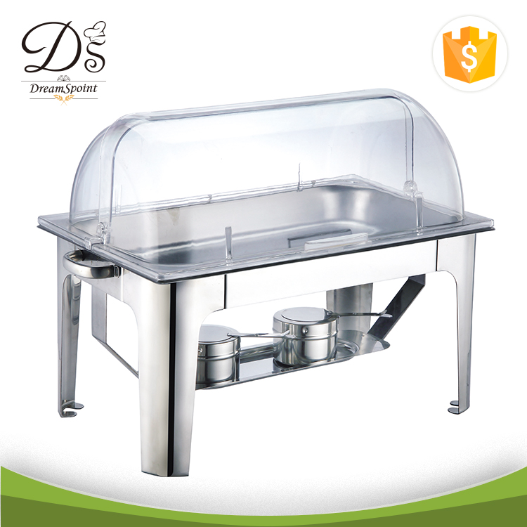 Food Warmers buffet chafer Stainless Steel 1/2 GN PAN Chafing Dish