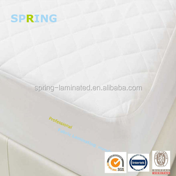 100% Polyester Knitted Waterproof Mattress Protector with TPU lamination