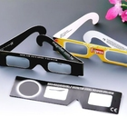 Cardboard Buyer's logo printed custom paper eclipse glasses