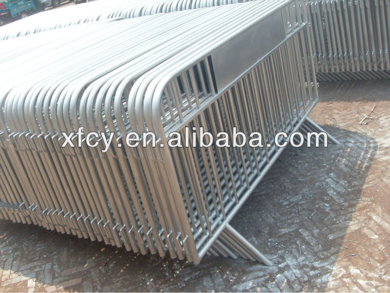 Galvanized Temporary Traffic sound fence barrier/Crowd control barrier(ISO SGS Approved)