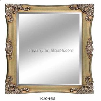 Antique Wood Carving Floral Mirror Frame - Buy Antique Wood Carving ...