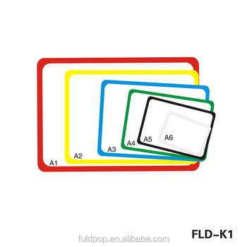 Factory Directly Hot sale A1A2 A3 A4 A5 A6 Plastic Poster Frame
