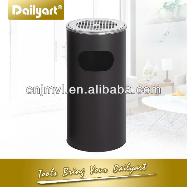 12L/30L Hotel Lobby Round Ashtray Stand Trash bin