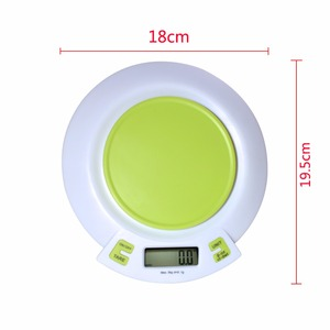 High-precision home kitchen scale electronic said5KG/1Ggrams of scale kitchen baking balance food materials bird's nest electron