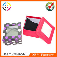 China Alibaba Wholesale Small Clear Top Gift Boxes