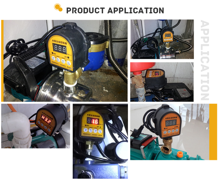 MD-SWLF Intelligent Electronic Digital Pressure Controller  for Water Pump