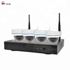 2019 Latest 4CH Long Range 960P WIFI NVR CCTV System Wireless IP Camera Wifi Kit Manufacturer