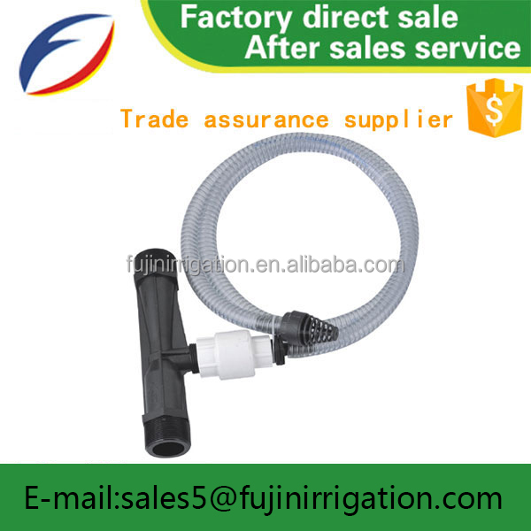 Agriculture farming tools fertilizing Venturi fertilizer injector