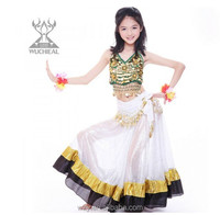 cheap wholesale indian style children belly dance costumes