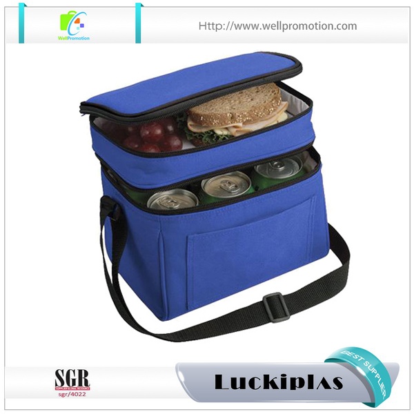 Hot sale 3 meal management system insulated fitness cooler lunch bag