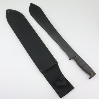 plastic handle and nylon sheath for camping and outdoor Polo machete knife