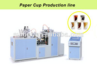 Paper cup machine for one-off cup; water, cola, beverage; healthful