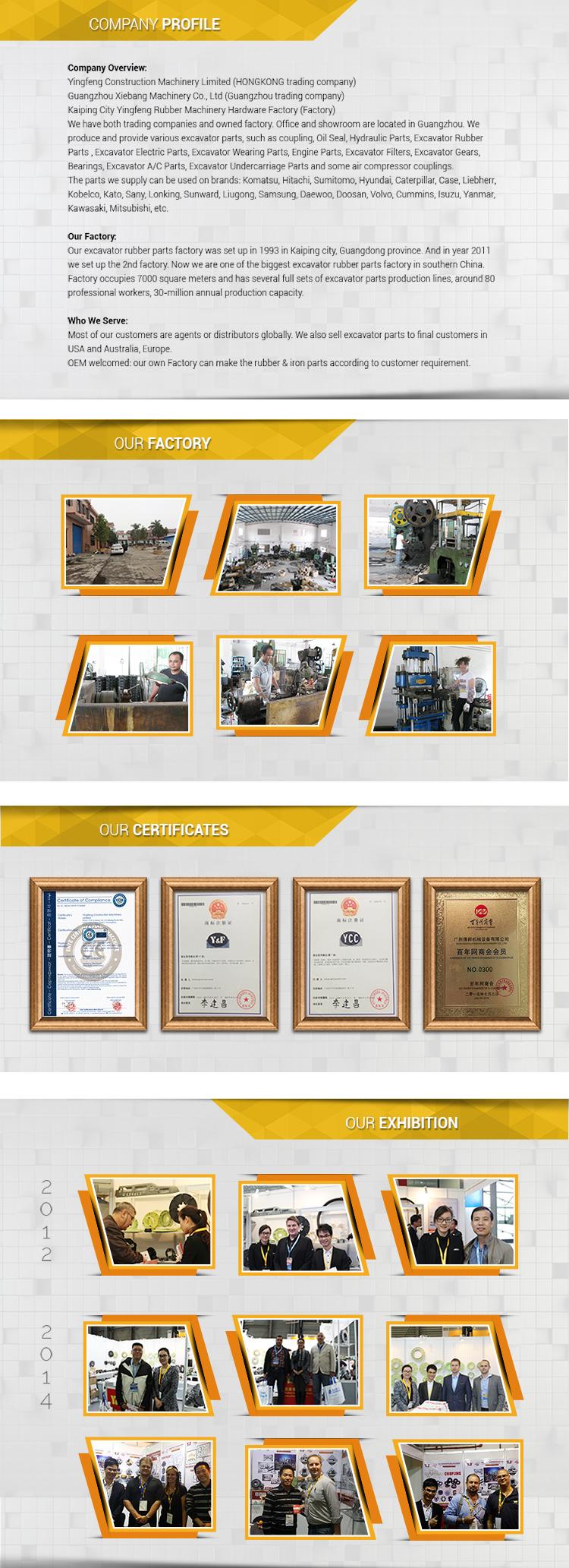 High-technology Machine Parts Construction Machinery Parts Excavator ...