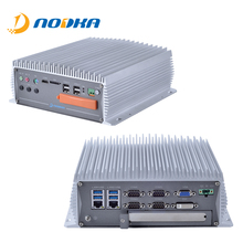Nodka i3 i5 i7 CPU nettop Industrie Lüfterlose Linux Mini <span class=keywords><strong>PC</strong></span> mit PCI Slot