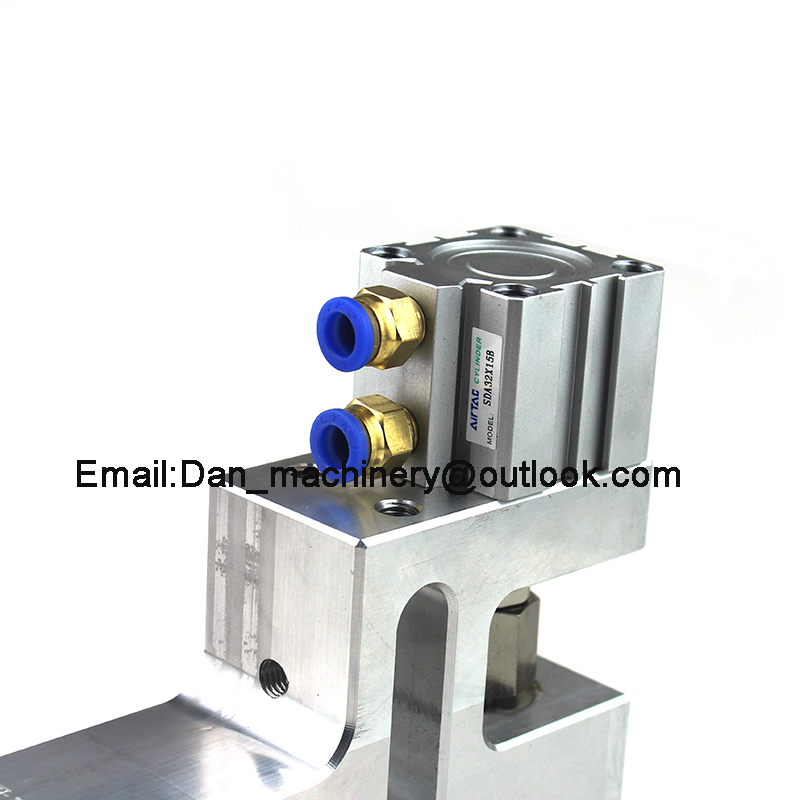 pneumatic hole punch machine Round hole punch for zipper pouch making machine