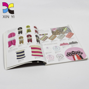 Full Color Printing Magazine Cover Custom Magazine Stand Custom Magazine Fashion Child