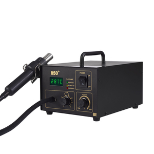 HAPREAL 850+ soldering desoldering rework station with air pump digital