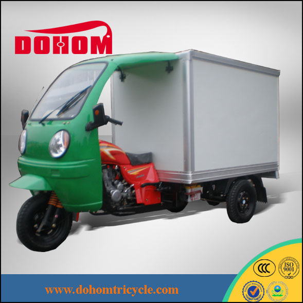 CHINA Closed cargo box 150cc /200cc/250cc ZTR trikes motor tricycle
