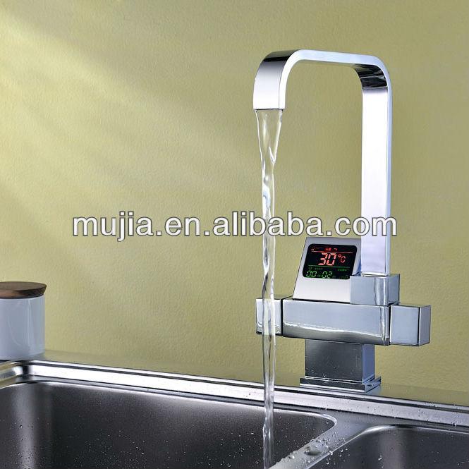 Neuen, modernen design chrom poliert küchenarmaturen Küche design ...
