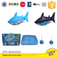 3 Channel rc fish with blister pool remote control toy shark