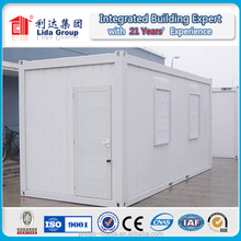 Hot!!!40ft sea container house for worker camp and office