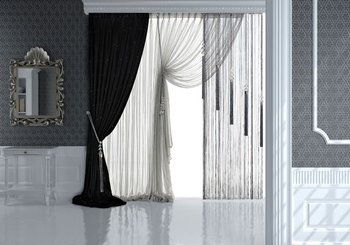 Production manufacture curtain-tulle products