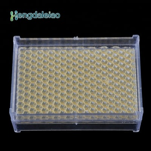 Large Transparent Bee Frame Honey Comb Cassette box
