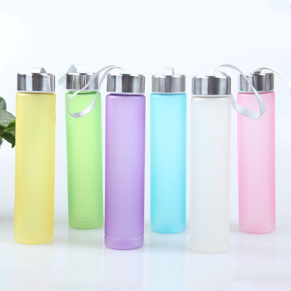 280ml high quality bpa free water bottle portable bike <strong>sports</strong> Unbreakable Water Bottle