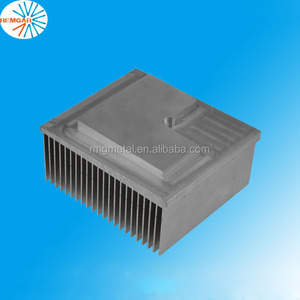 factory customized good quality aluminum extrusion heatsink