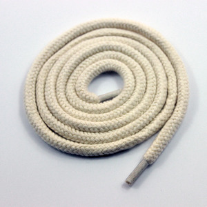 Chinese Manufacturer Wholesale Braided Colored Cotton Rope for garment  accessory drawstring cord