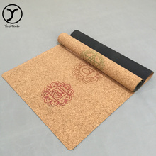 "Eco-Friendly Comfort Collapsible Anti-Tear High Density supreme fitness flow 1/4"" yoga/pilates mat"
