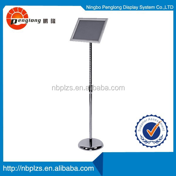 A3, A4 Polished Display Sign rack menu poster stand
