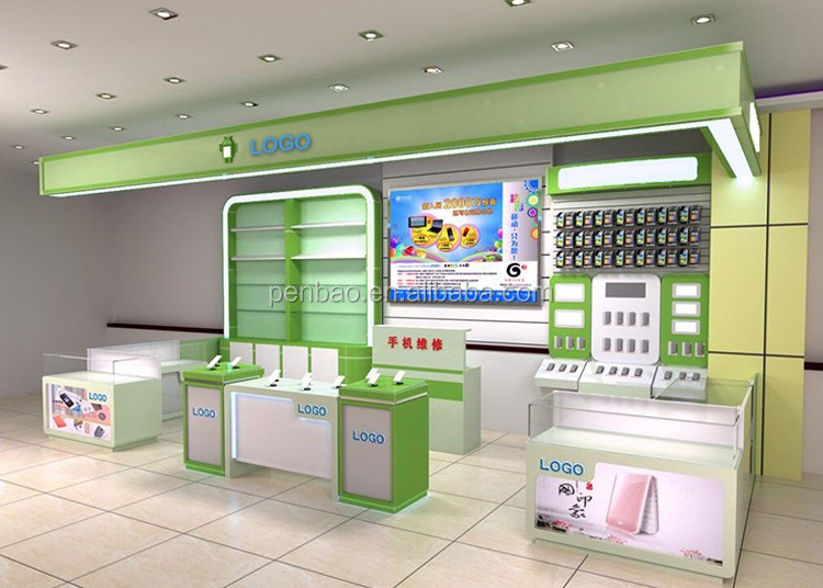 Special Modern Mobile Phone Shop Interior Decoration Design - Buy ...