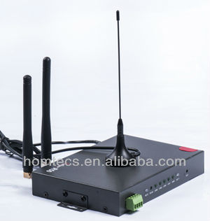 In-Vehicle hspa+ 1wan gps modem With Wi-Fi,GPS for Transmit Signals in Subway Systems V50series