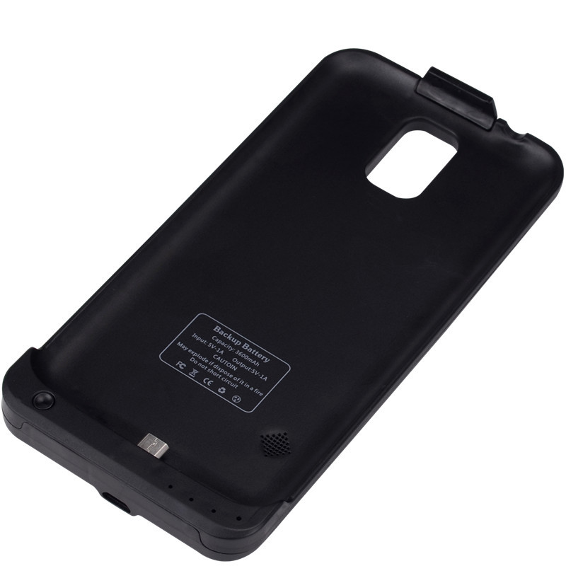 half off 099cc 93eeb Buy For Samsung Galaxy S5 Battery Case 3600mAh Portable Charger ...