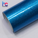 Diamond Blue Glossy Glitter Wraps Vinyl Car Decoration Sticker 1.52*20M