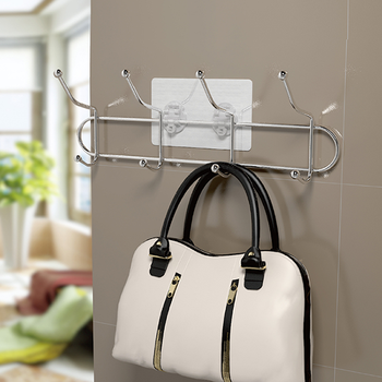 The Easiest Way To Hang Clothes Bag Metal Wall Wire