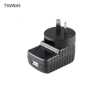 New Universal USB Wall Charger With Replaceable Adapter EU US UK AU Plug