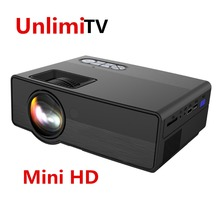[Hot selling]Cheap cost-effective mini hd led mobile portable hd video multimedia home theater projector