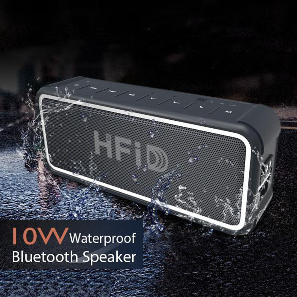 Unlocked Music Player Wireless Speaker Waterproof Bluetooth