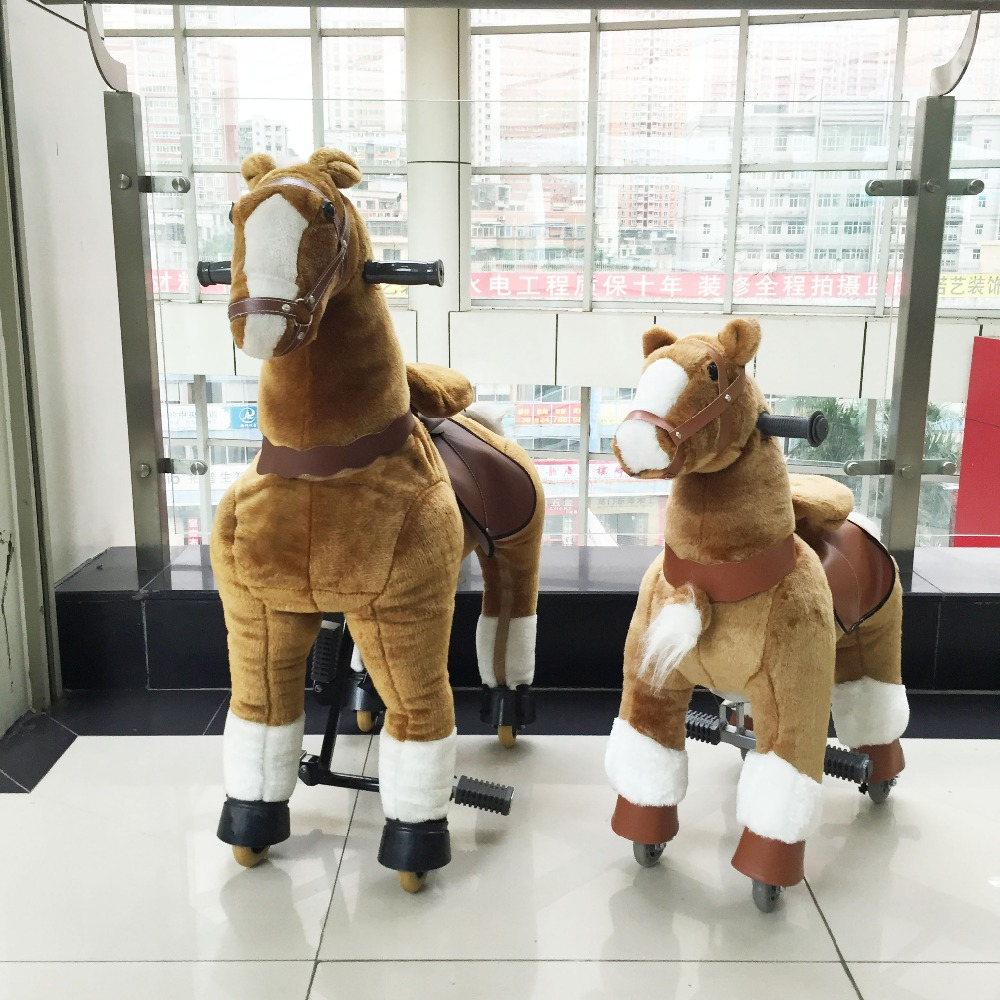HI meet CE,AZO and RoSH standard walking horse toy and mechanical horse toys